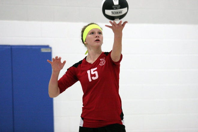 Emmaline Davey of New Life Christian Academy is the Times Herald Athlete of the Week.