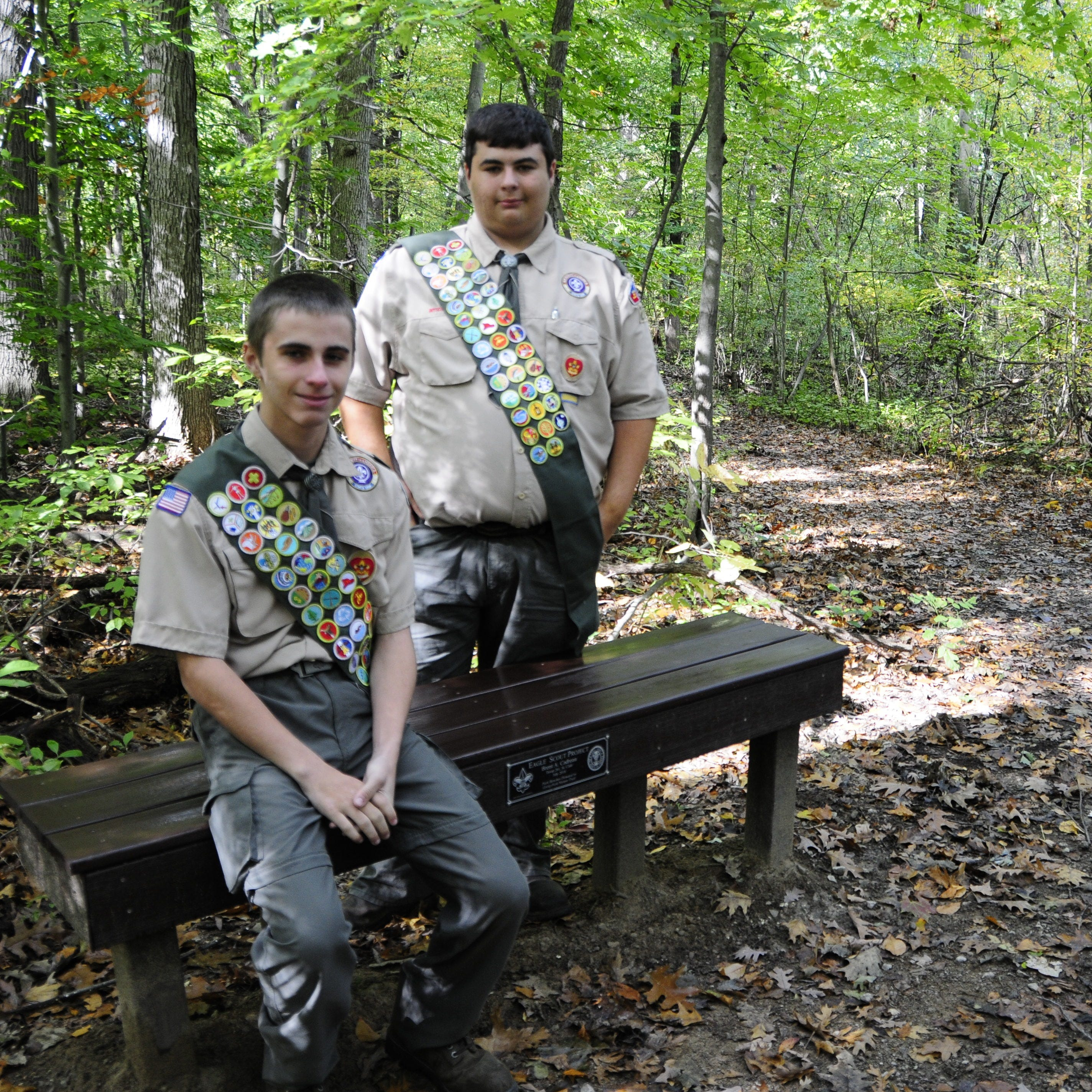 Twins complete Eagle Scout projects