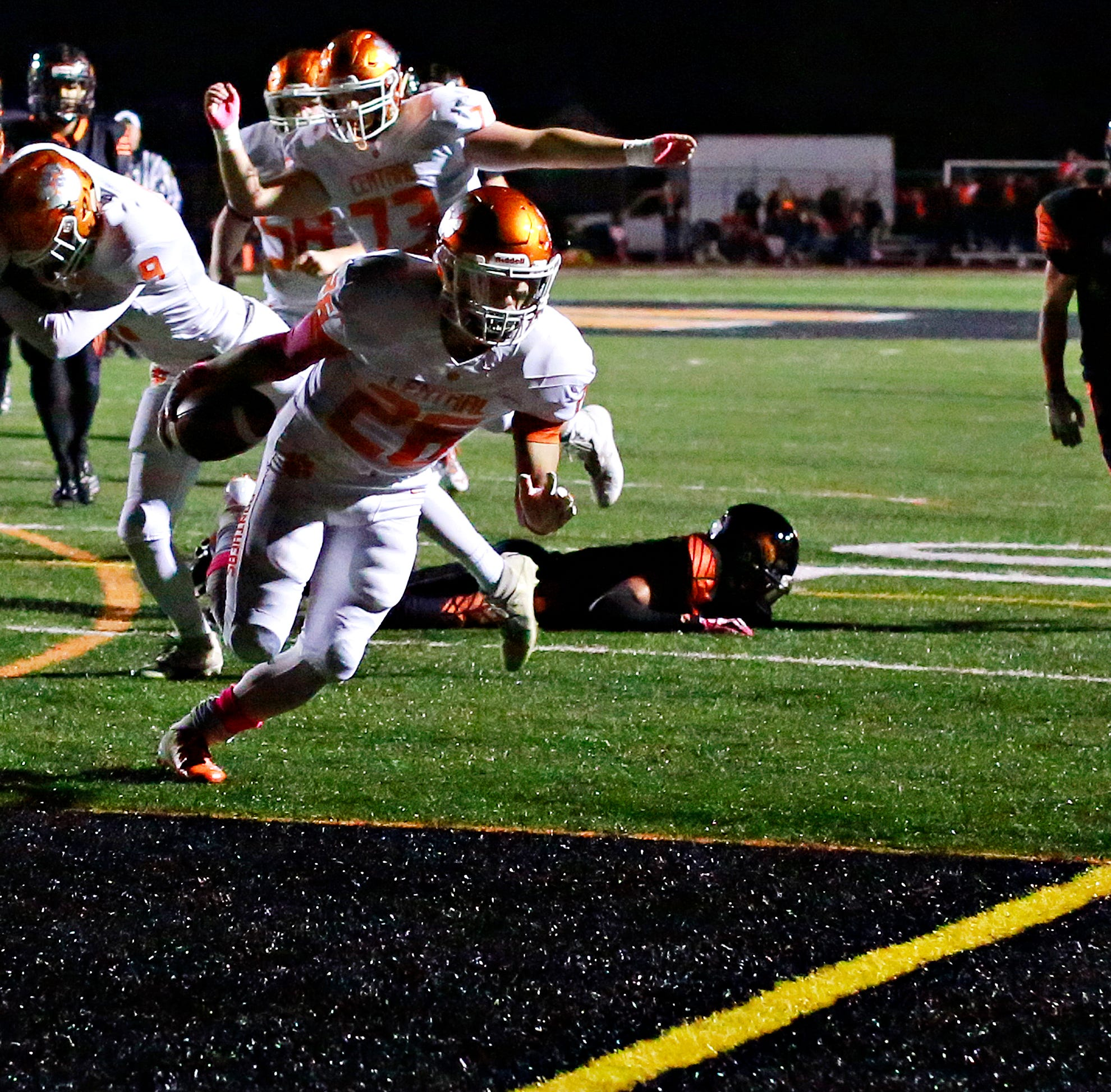 Central York runs for five touchdowns in blowout win over Northeastern
