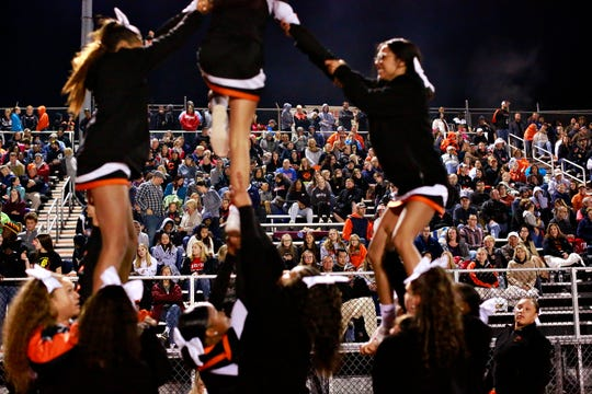 Central York vs Northeastern during football action at Northeastern Senior High School in Manchester, Friday, Oct. 12, 2018. Central York would win the game 44-7. Dawn J. Sagert photo