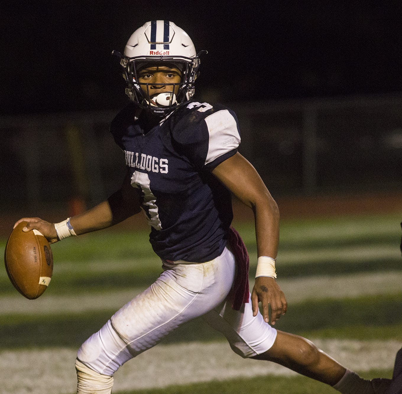 West York running back Ay'Jaun Marshall makes his college choice