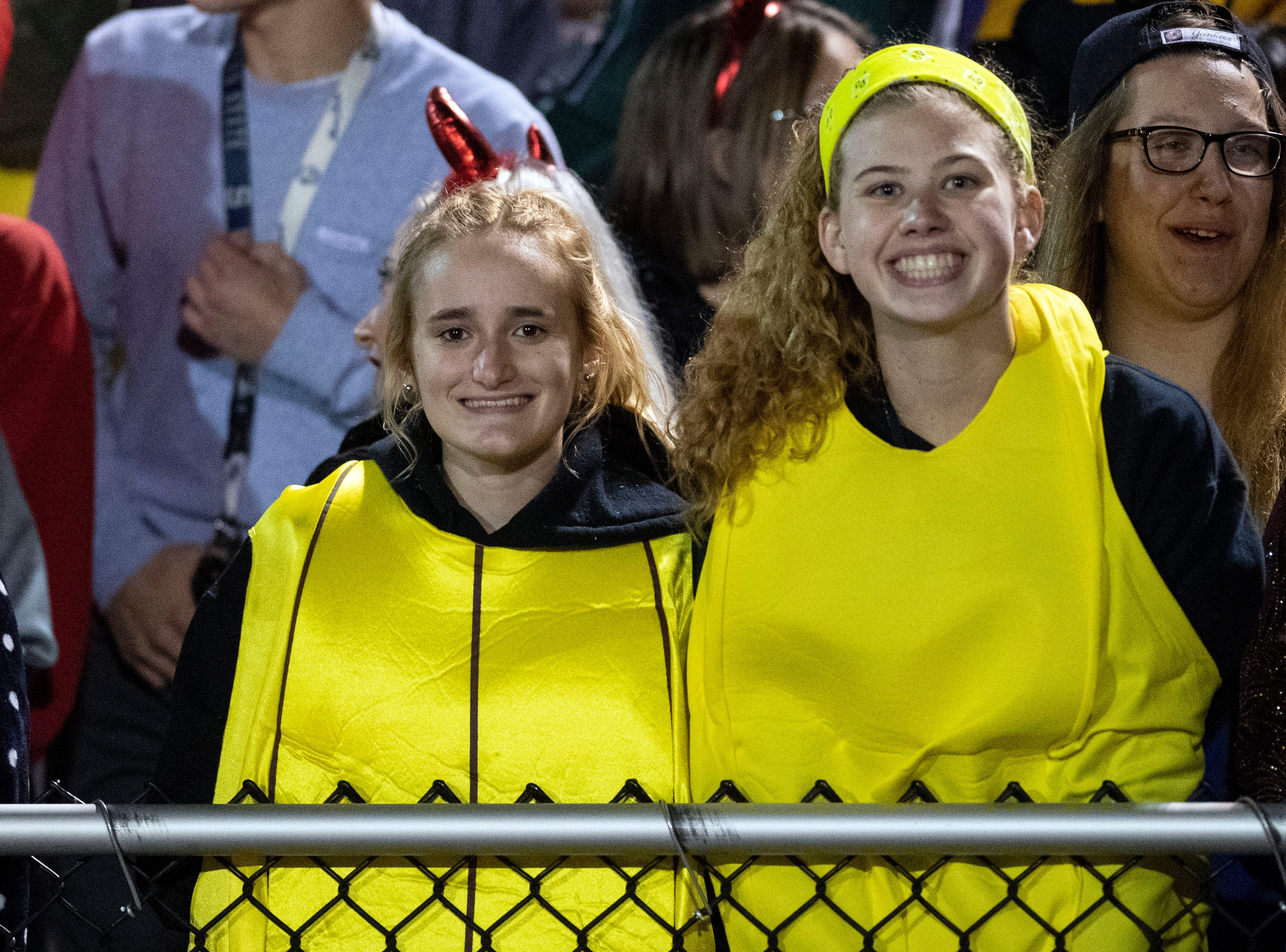 Northeastern students dressed up for the Bobcats' homecoming game on Friday, Oct. 12, 2018. The Central York Panthers beat the Northeastern Bobcats, 44-7.