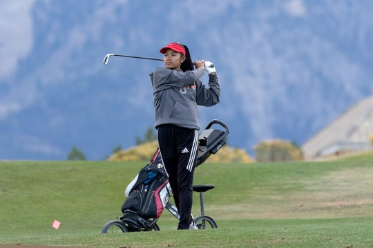 Wooster sophomore Lily Landt won the girls golf Regional.