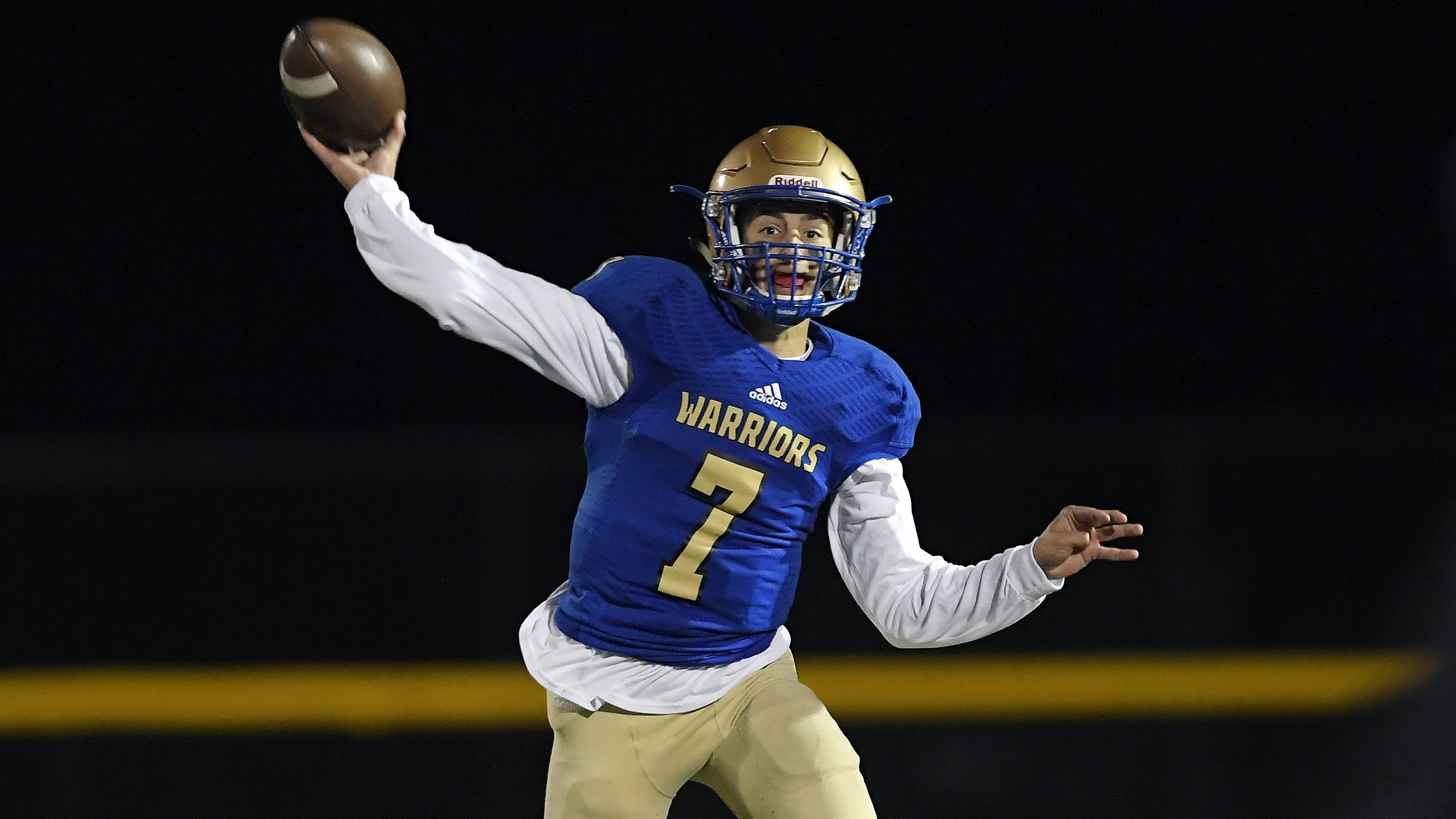 Who were Section V football's top performers for Week 7?