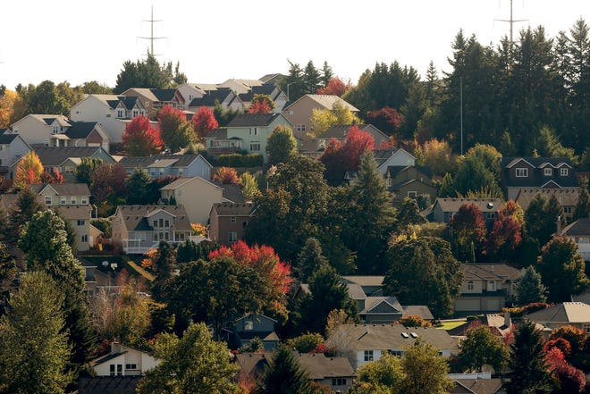 Homes in West Salem on Saturday, Oct. 13, 2018. Property tax rates will rise 11 percent for homeowners in Salem and Keizer after the passing of school and library bonds.
