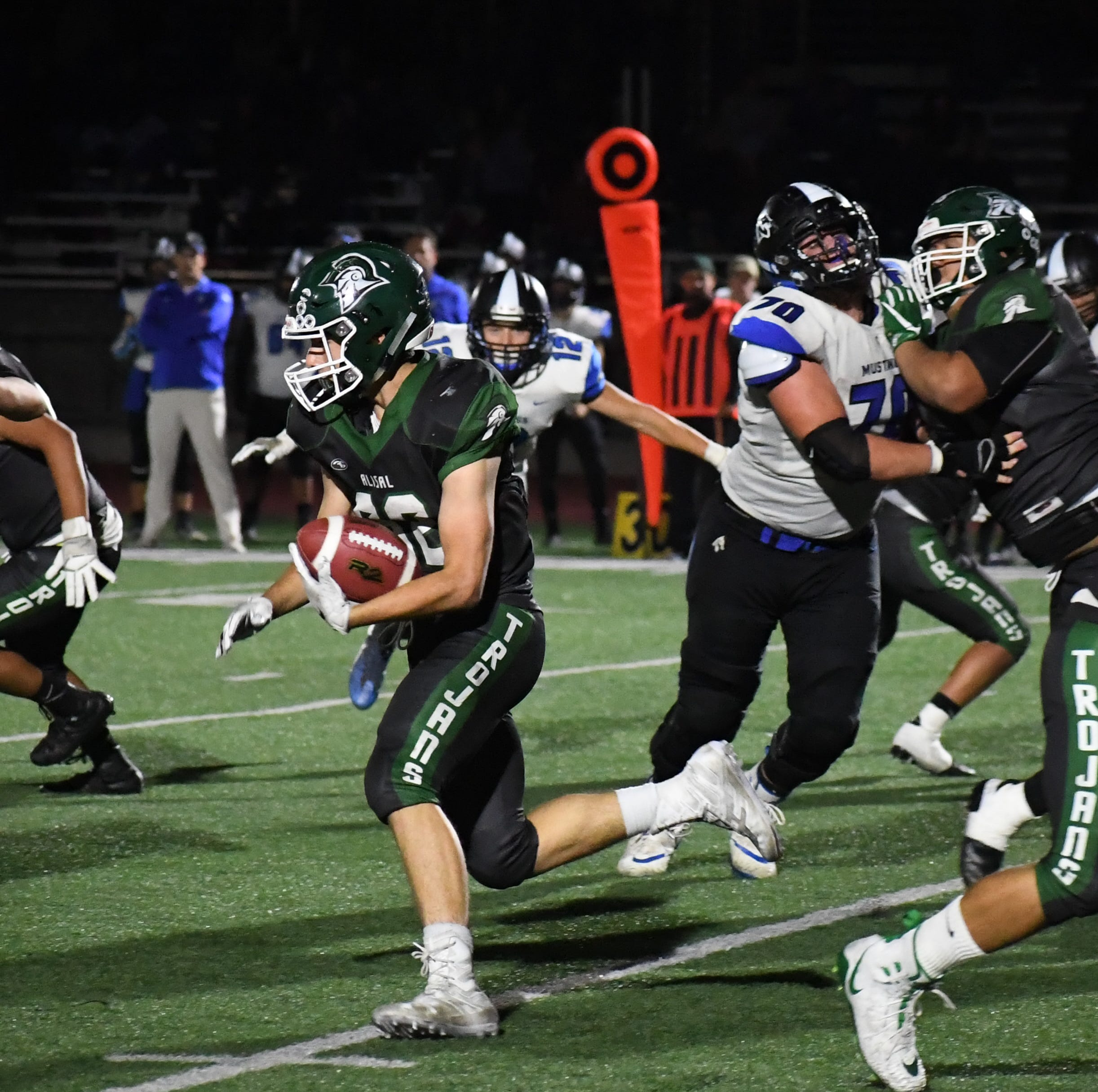 Here's the Alisal, Notre Dame players who won Athletes of the Week