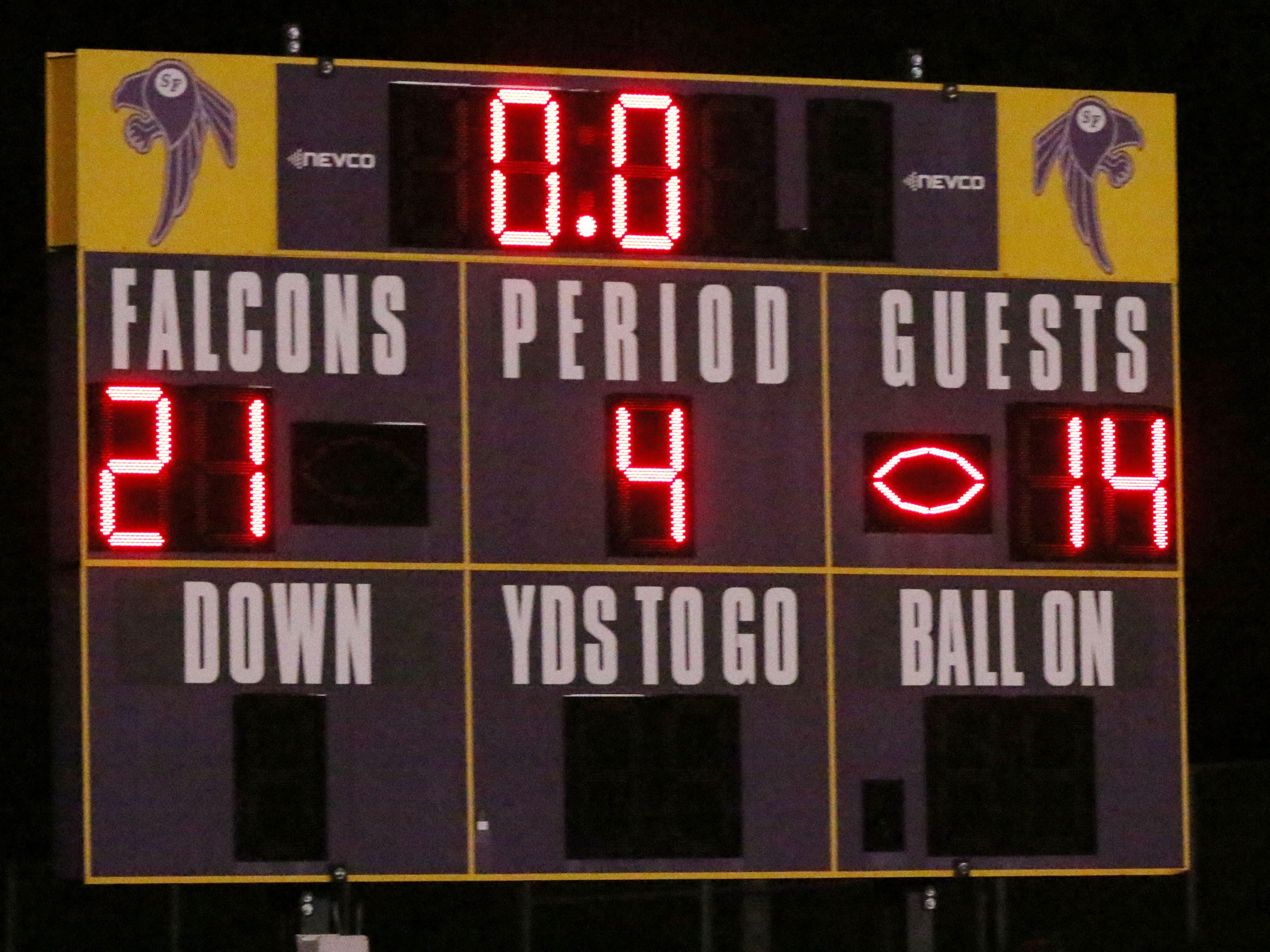 FINAL: Sheboygan Falls 21, Two Rivers 14, Friday, October 12, 2018, in Sheboygan Falls, Wis.