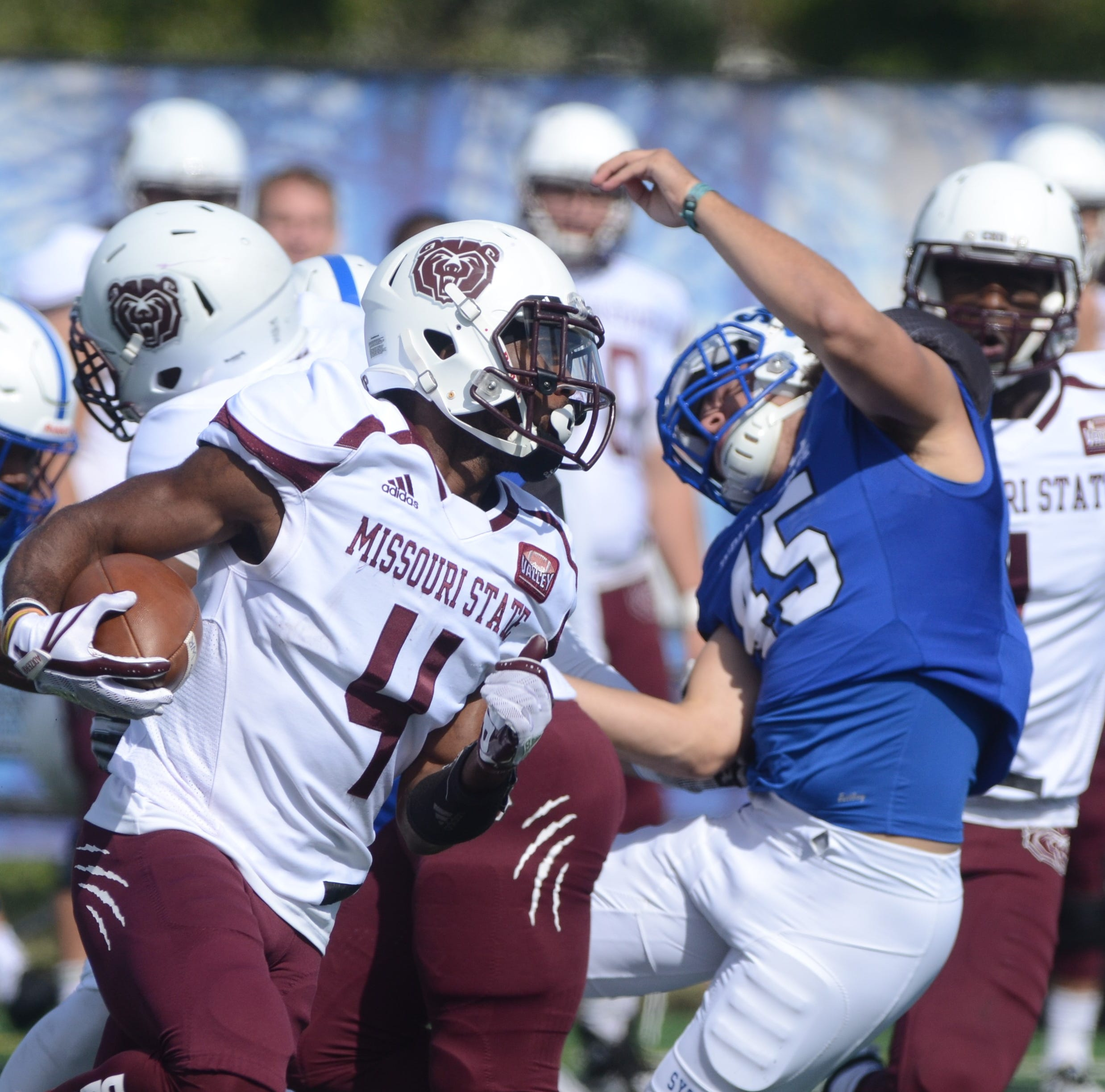 Missouri State survives at Indiana State with go-ahead touchdown in final seconds