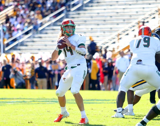 FAMU quarterback Ryan Stanley was 28 of 53 for 313 yards in the win over N.C. A&T. Stanley injured his back against the Aggies. He used the bye week to heal and get treatment.