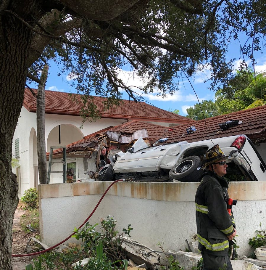 Airborne pickup strikes home in St. Lucie County