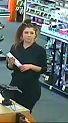 Police in Thousand Oaks hope the public can help them identify a woman suspected of fraud.
