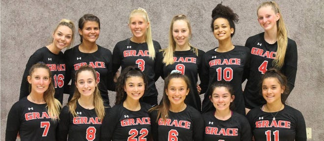 The Grace Brethren girls volleyball team is the top seed for the Division 6 playoffs.