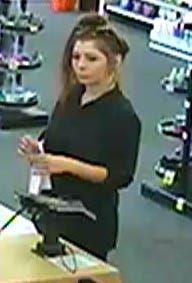 Police in Thousand Oaks are seeking help to identify a female fraud suspect.