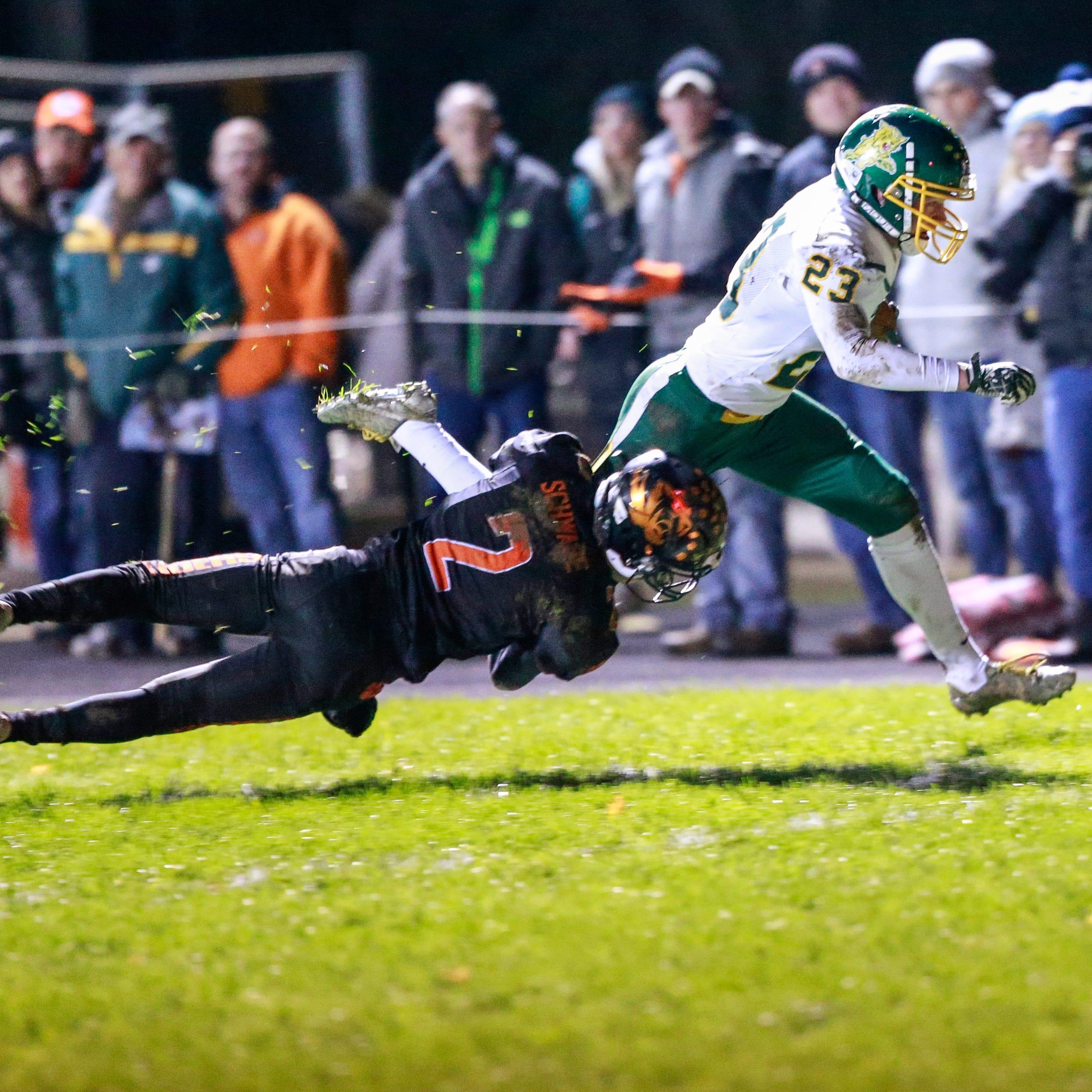 High school football: Six local programs earn top seeds for WIAA postseason