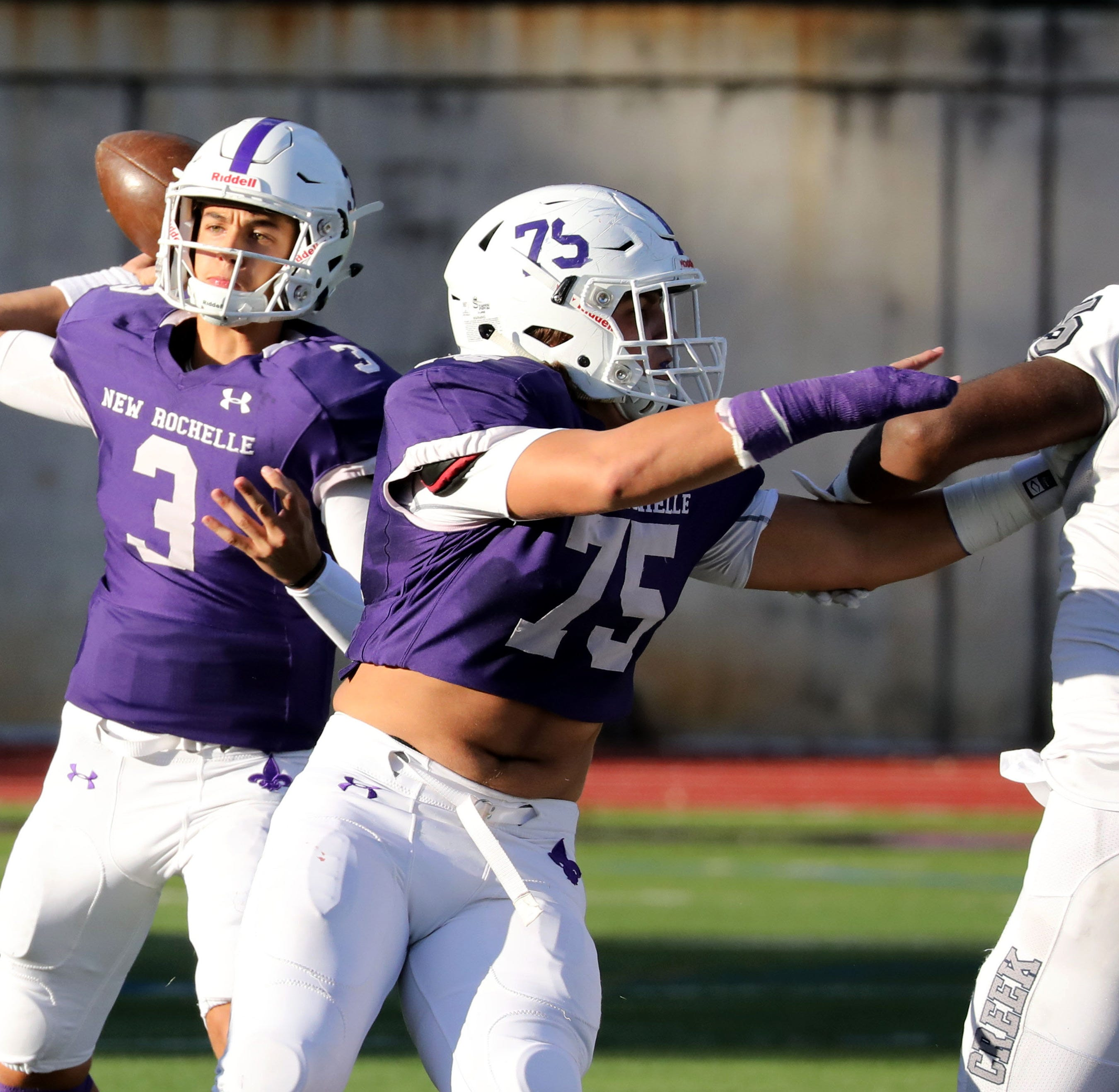 Football: Mac Coughlin's three TD passes net New Rochelle QB Player of the Week