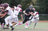Game highlights and interviews of Rye Football's 34-28 win over Harrison