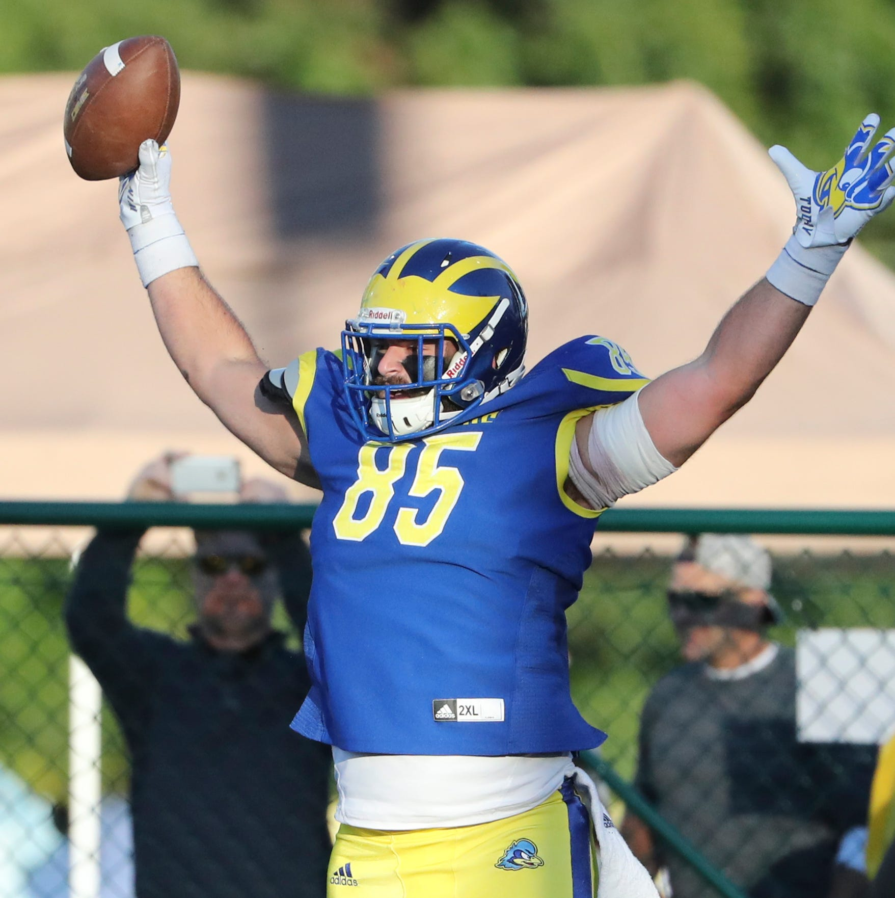 Delaware Blue Hens show 'heart and soul,' rally to upset No. 5-ranked Elon
