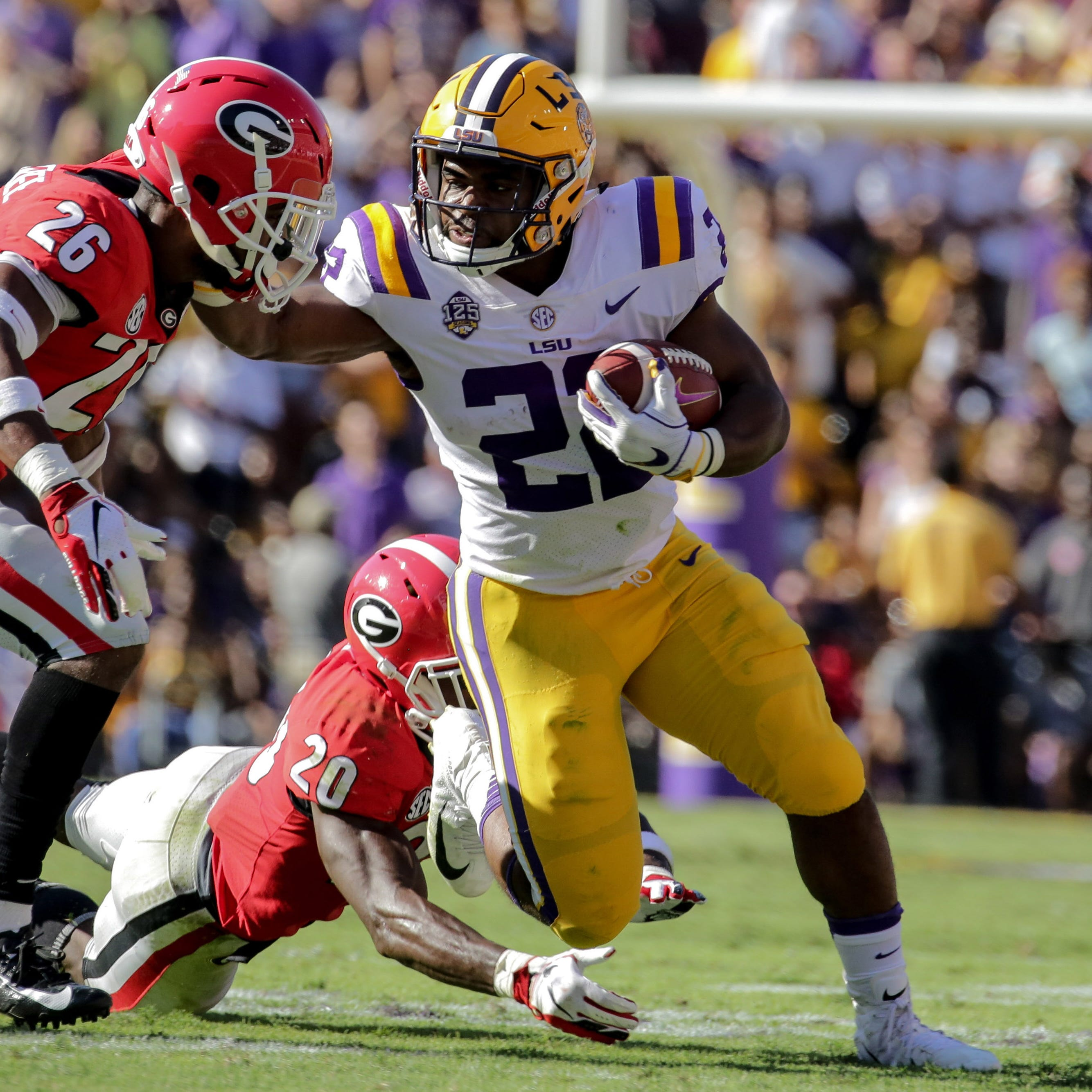 LSU is Back! Tigers jump to No. 5 in both polls after dominating No. 2 Georgia, 36-16