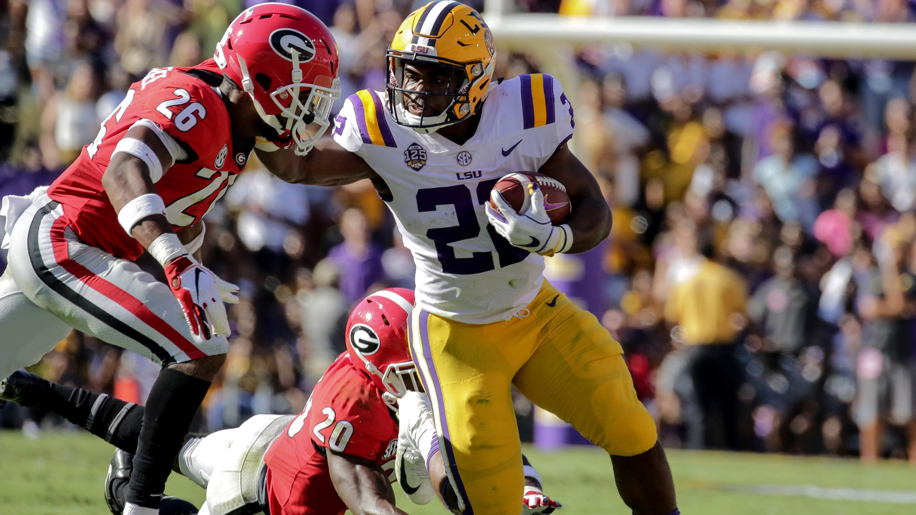 LSU pounds Georgia to prove it is in the College Football Playoff race d2d0e8956