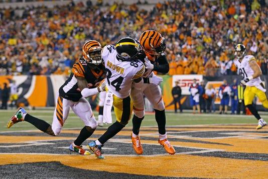 Nfl Pittsburgh Steelers At Cincinnati Bengals