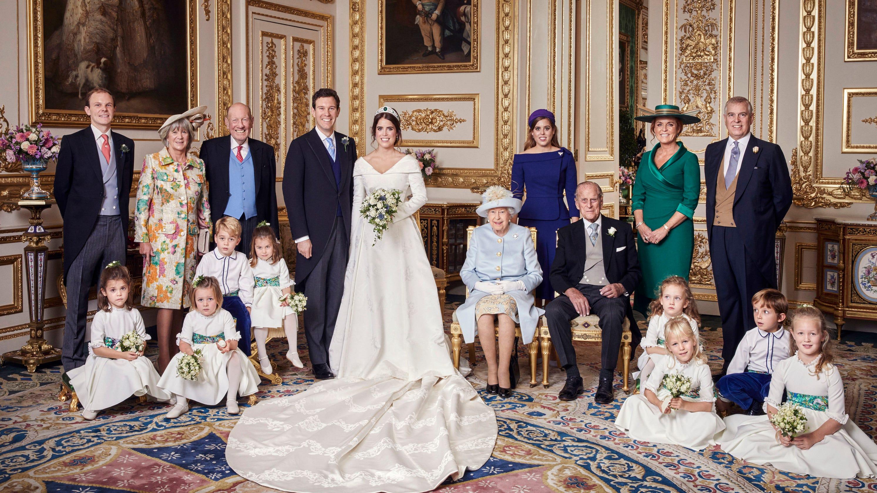 Princess Eugenie, Jack Brooksbank Share Official Royal