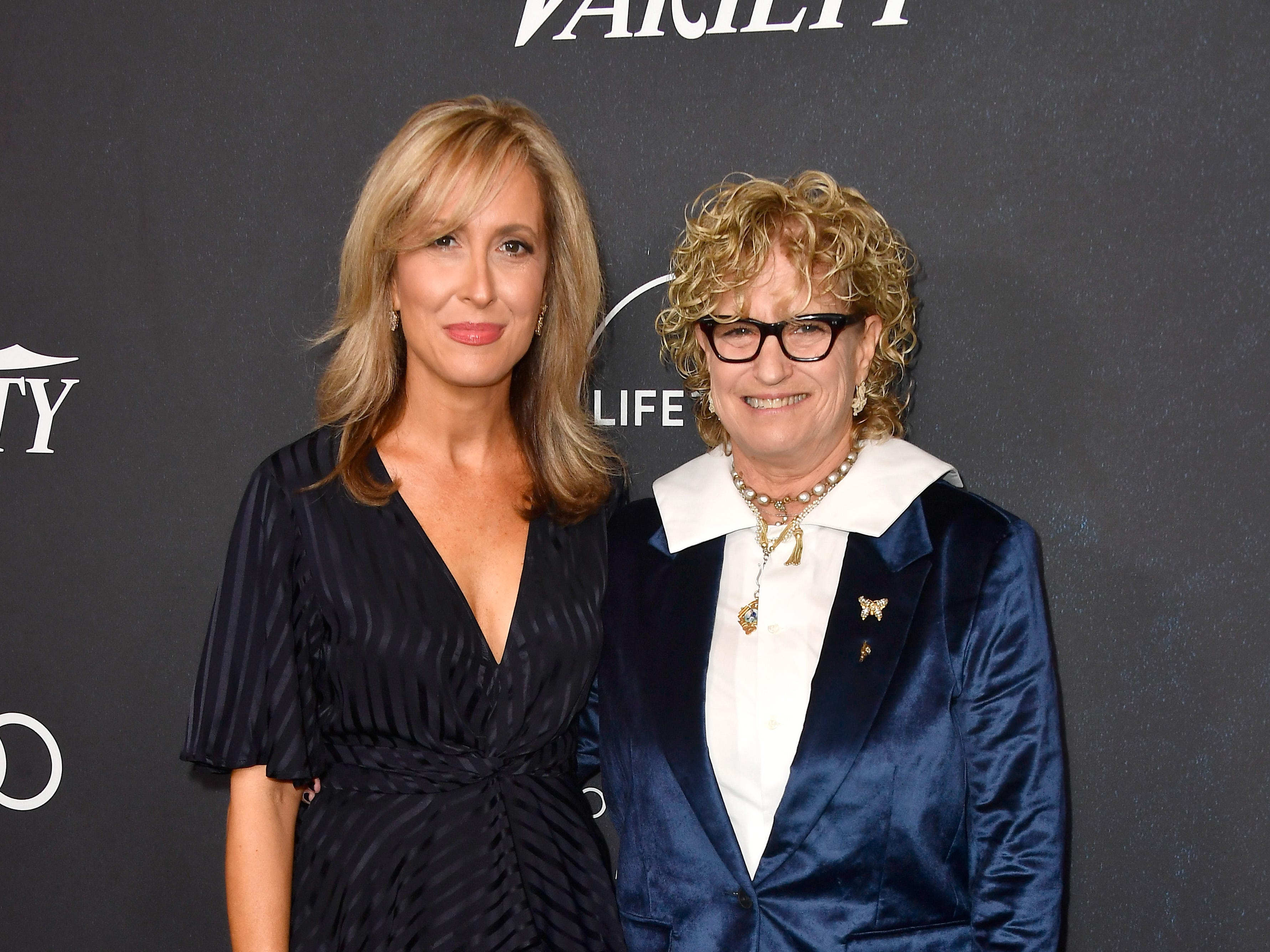 Publisher of Variety Michelle Sobrino-Stearns (L) and Co-Editor-In-Cheif of Variety Claudia Eller