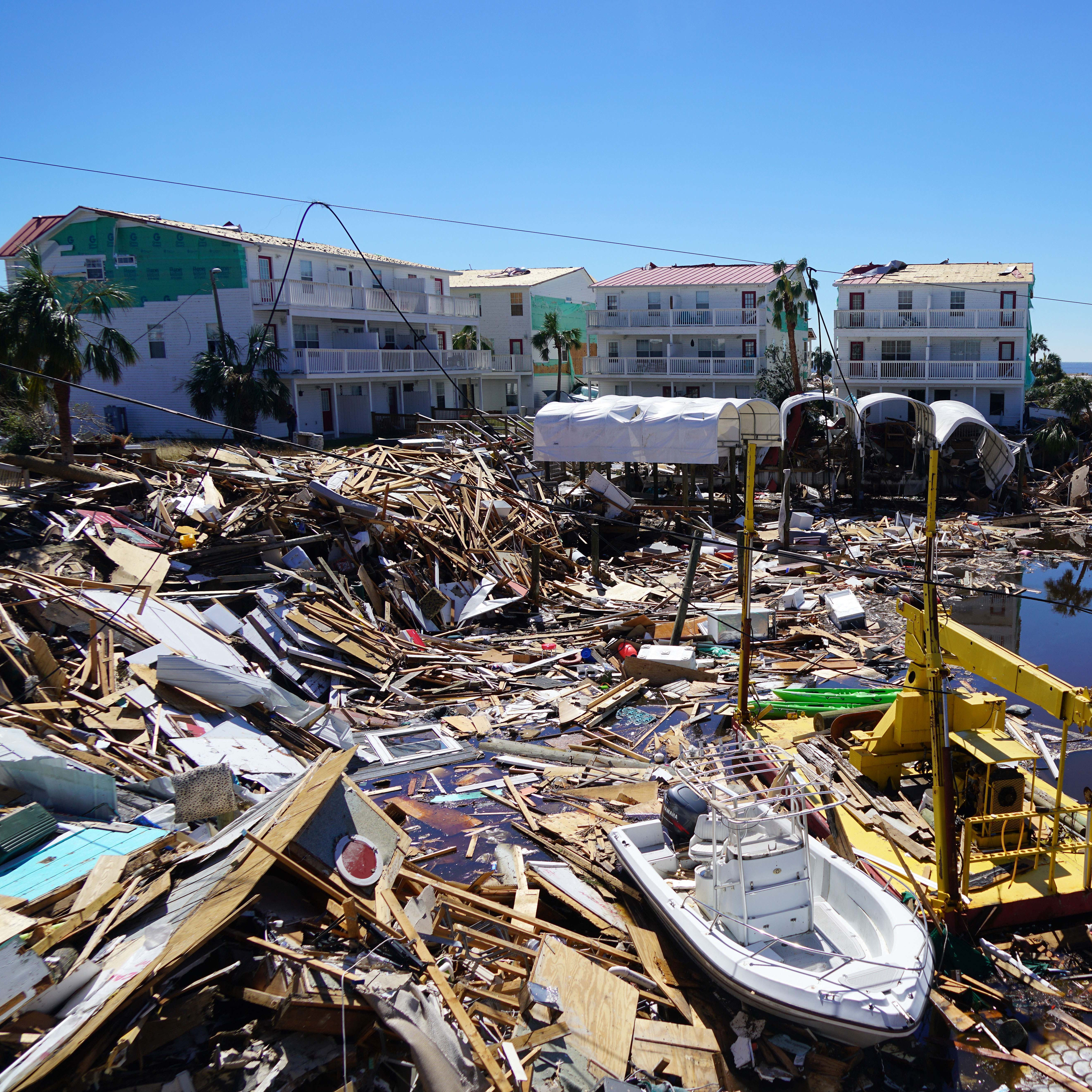 What caused Hurricane Michael's devastating path through the Florida Panhandle? | WeatherTiger