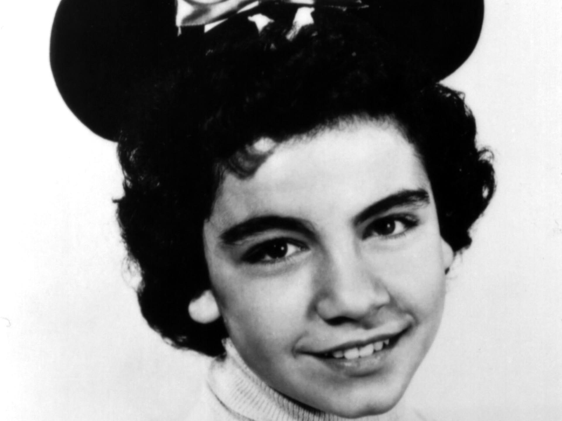 """Annette Funicello from the original """"Mickey Mouse Club."""""""