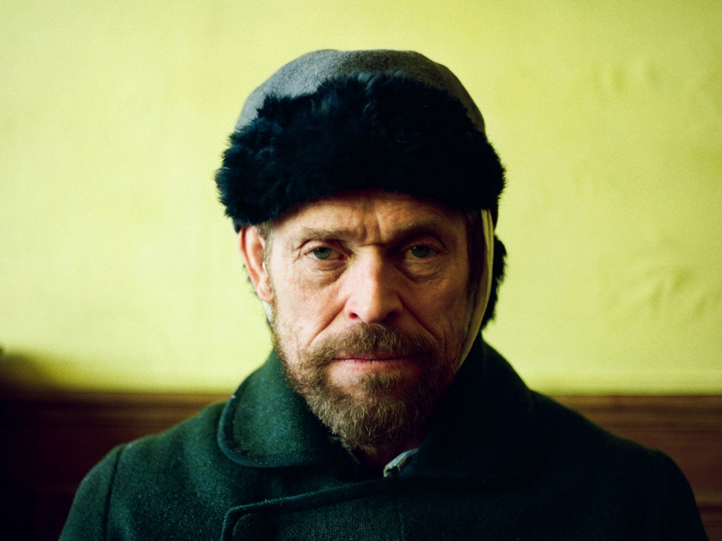 "Willem Dafoe disappears into the role of Vincent van Gogh in unorthodox biopic ""At Eternity's Gate."""