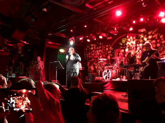 Johnny Lydon and Public Image Ltd. at their  Saturday, Oct. 13  show at Asbury Lanes in Asbury Park.