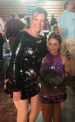 Big Sister Lisa Johnson of Petland competed with her Little Sister Rieghlynn during the Dance for Kids Sake event on Saturday where they won they Judges Choice award.