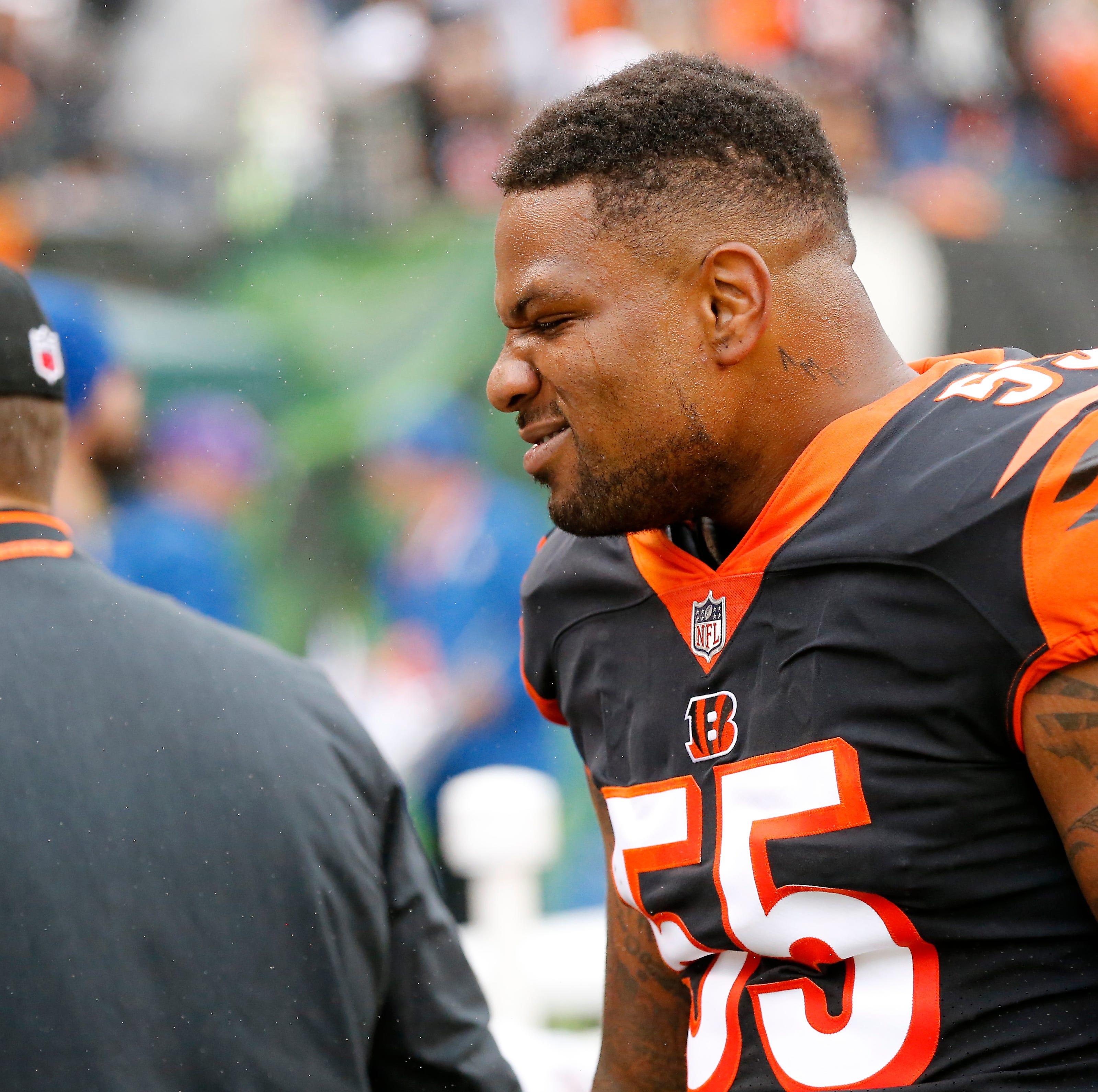 Report: NFL fines Cincinnati Bengals LB Vontaze Burfict again