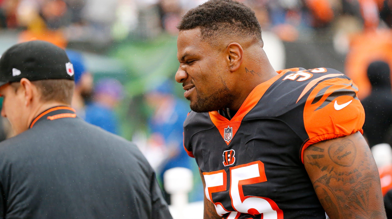 finest selection de652 8eb1b Report: Cincinnati Bengals LB Vontaze Burfict fined again by NFL