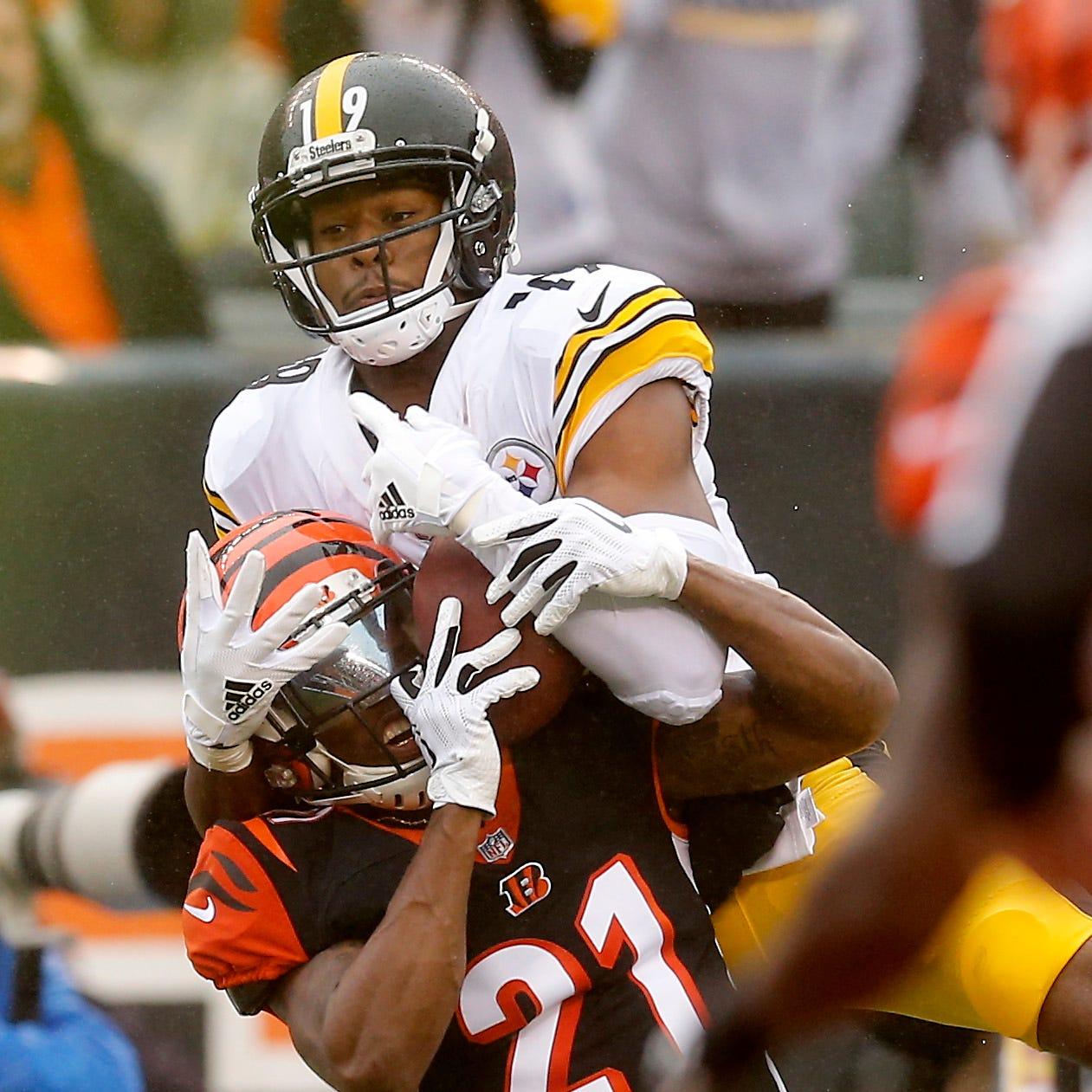 Pittsburgh Steelers score late touchdown to beat Cincinnati Bengals