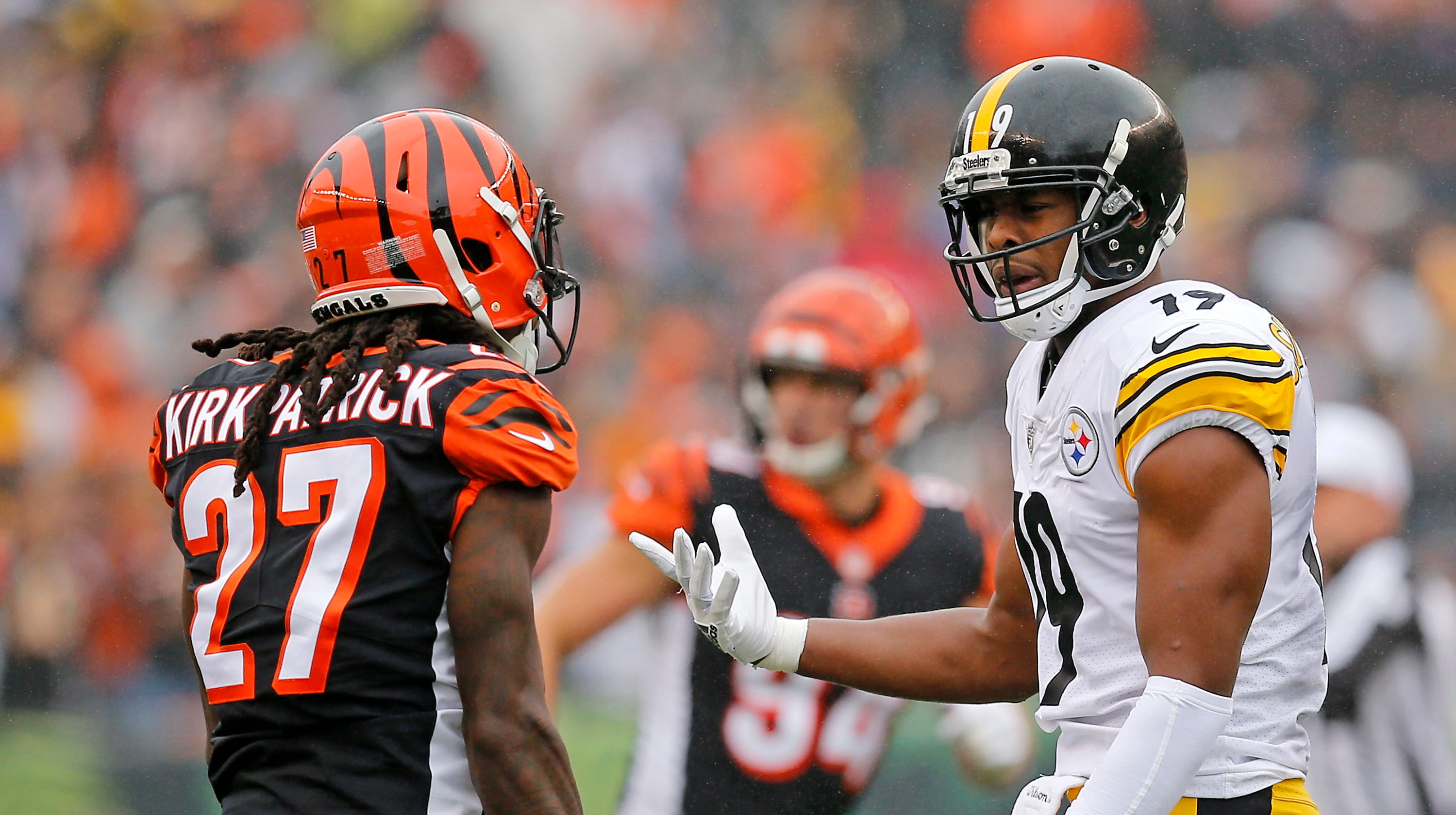 520bef5a1 Steelers  JuJu Smith-Schuster  Bengals  were all making threats at me