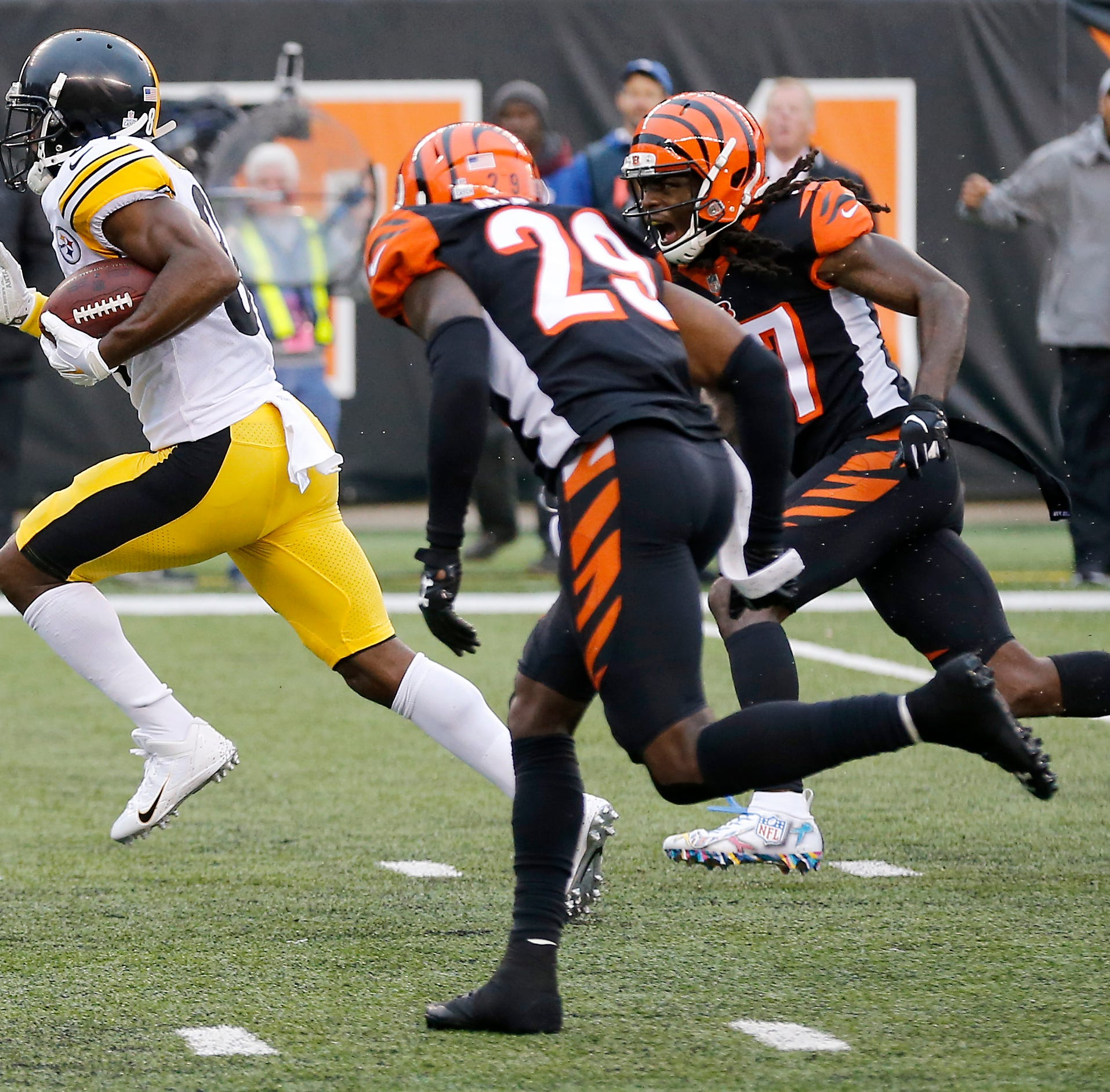 NFL VP of Officiating Al Riveron on Steelers' TD: Bengals' defender initiated contact