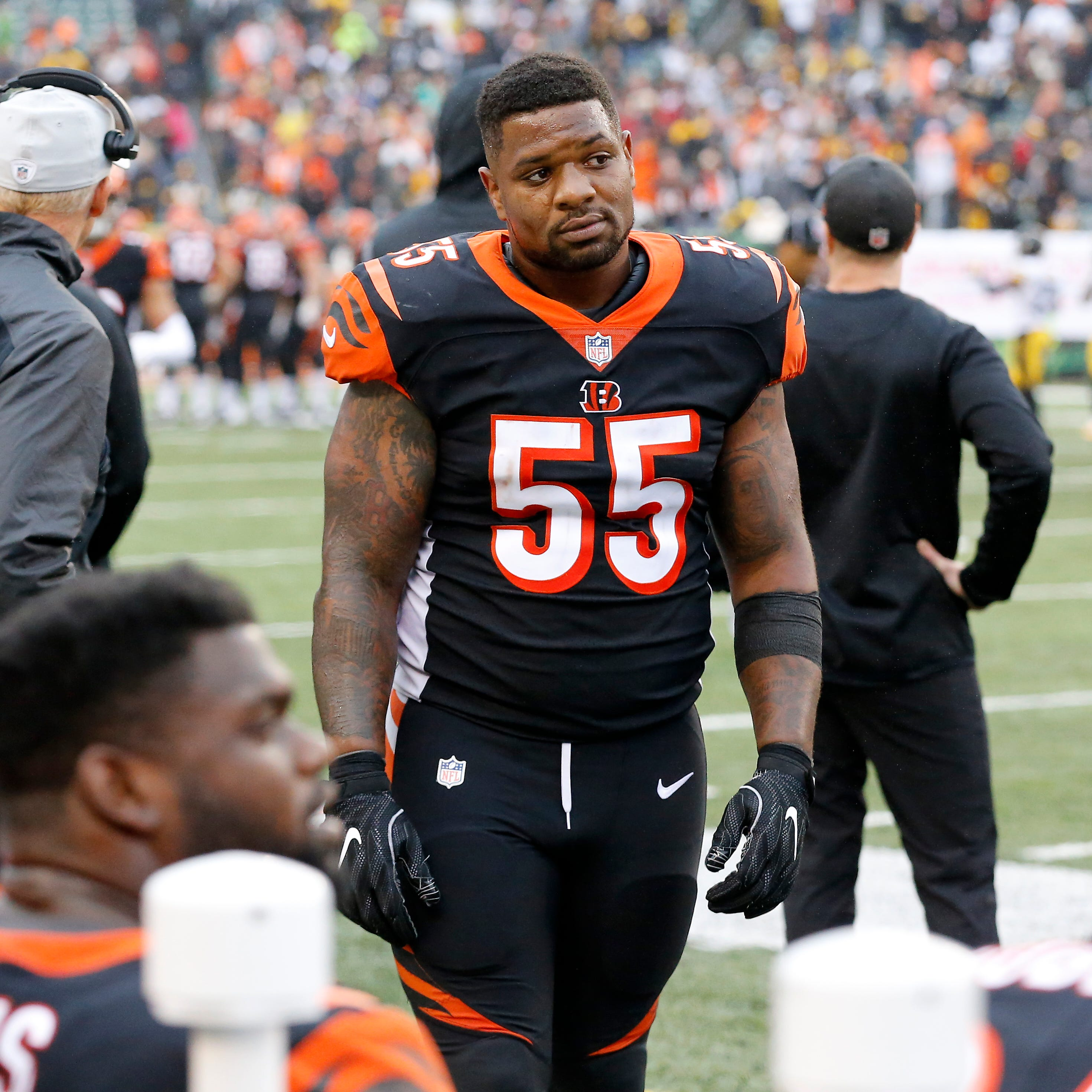 Report: No suspension expected for Cincinnati Bengals' Vontaze Burfict
