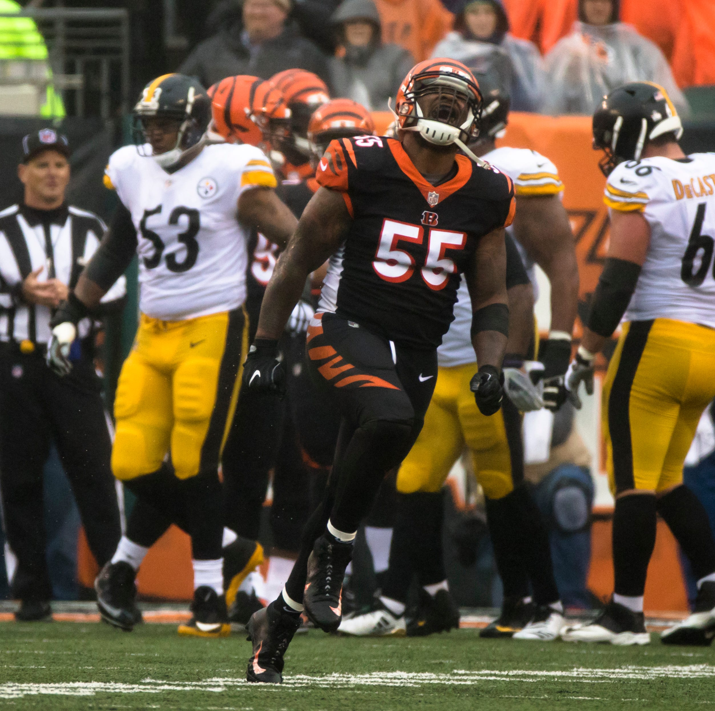 Report: Cincinnati Bengals owner Mike Brown calls Vontaze Burfict fine unfair, excessive