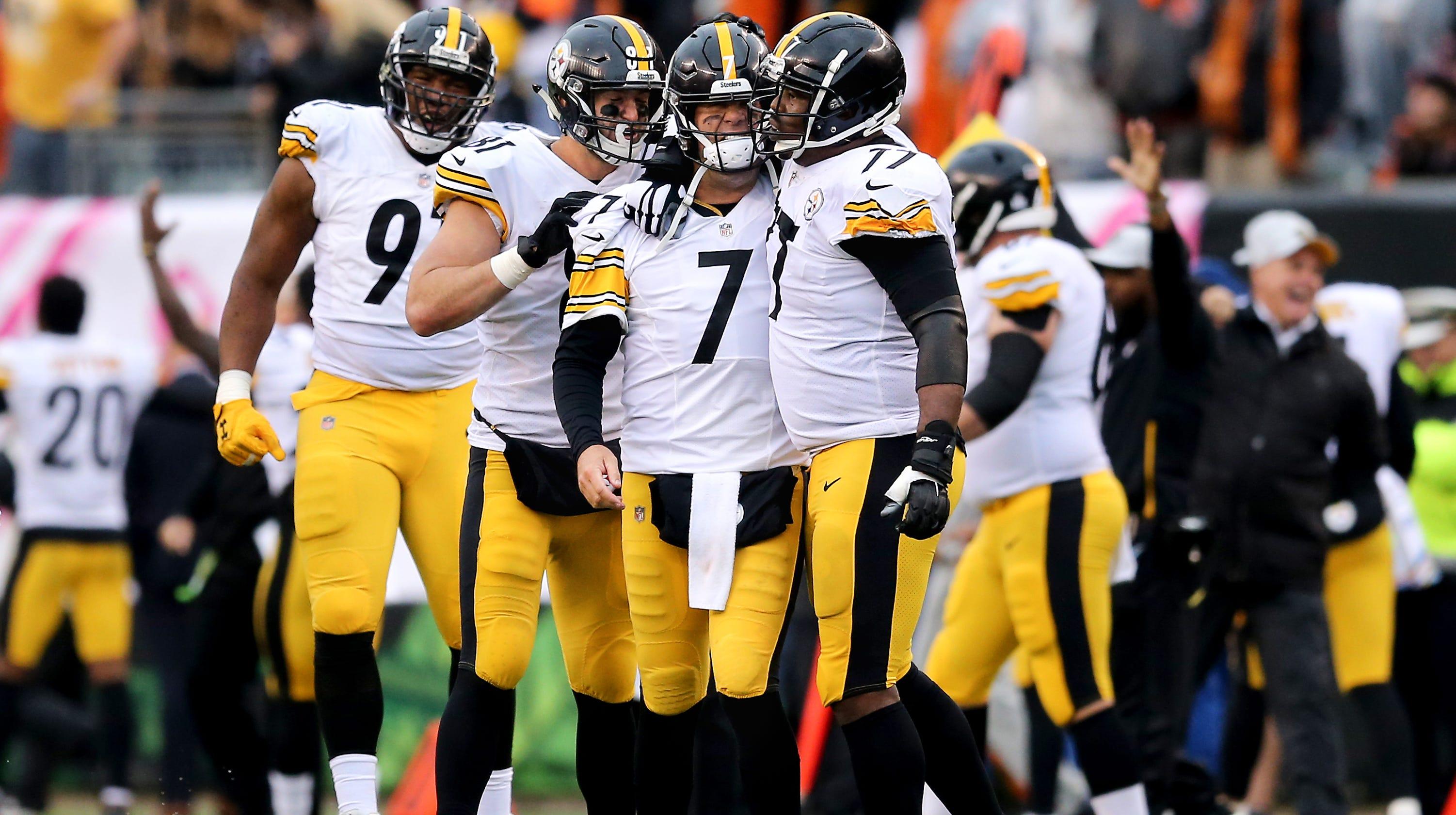 b755027ac Paul Daugherty: Ben Roethlisberger, Pittsburgh Steelers did what they do  best – beat the Cincinnati Bengals