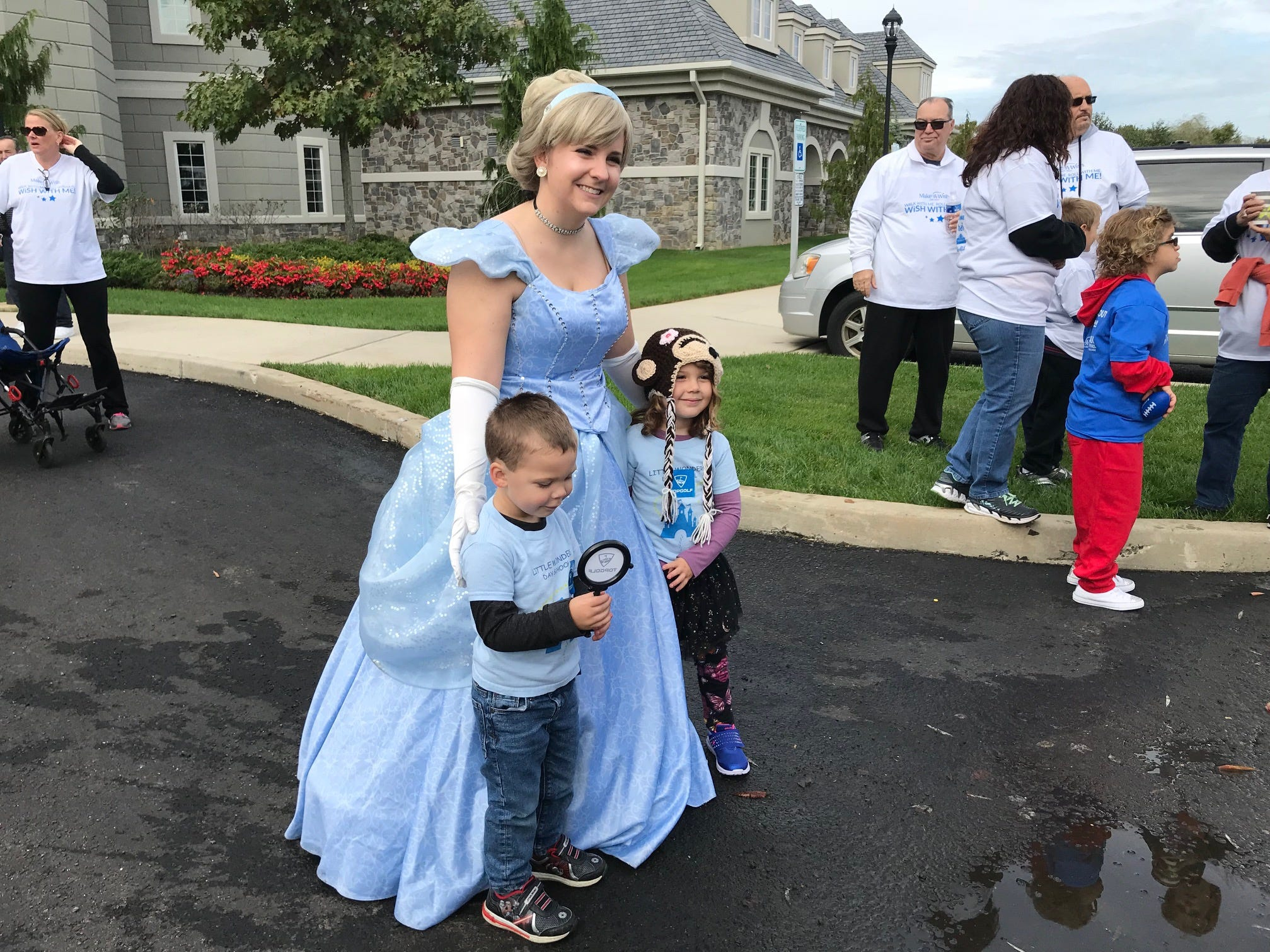 """On October 14, Make-A-Wish New Jersey will hosted its annual """"Walk & Roll for Wishes"""" at the Samuel & Josephine Plumeri Wishing Place in Monroe Township, a magical and whimsical  wish-granting facility that Make-A-Wish New Jersey calls home. Attended by more than 800 people, including 35 Wish families and their teams, the event raised vital funds needed for their mission to create life-changing wishes for children with critical illnesses. Make-A-Wish New Jersey broke records in their last fiscal year - granting 560 wishes."""