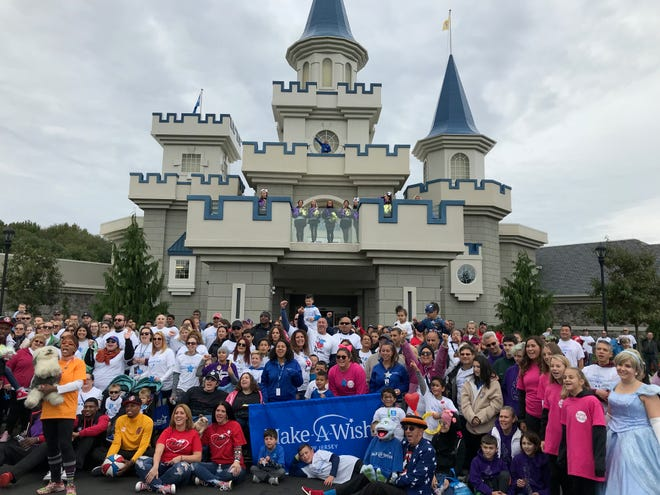 "On October 14, Make-A-Wish New Jersey will hosted its annual ""Walk & Roll for Wishes"" at the Samuel & Josephine Plumeri Wishing Place in Monroe Township, a magical and whimsical  wish-granting facility that Make-A-Wish New Jersey calls home. Attended by more than 800 people, including 35 Wish families and their teams, the event raised vital funds needed for their mission to create life-changing wishes for children with critical illnesses. Make-A-Wish New Jersey broke records in their last fiscal year - granting 560 wishes."