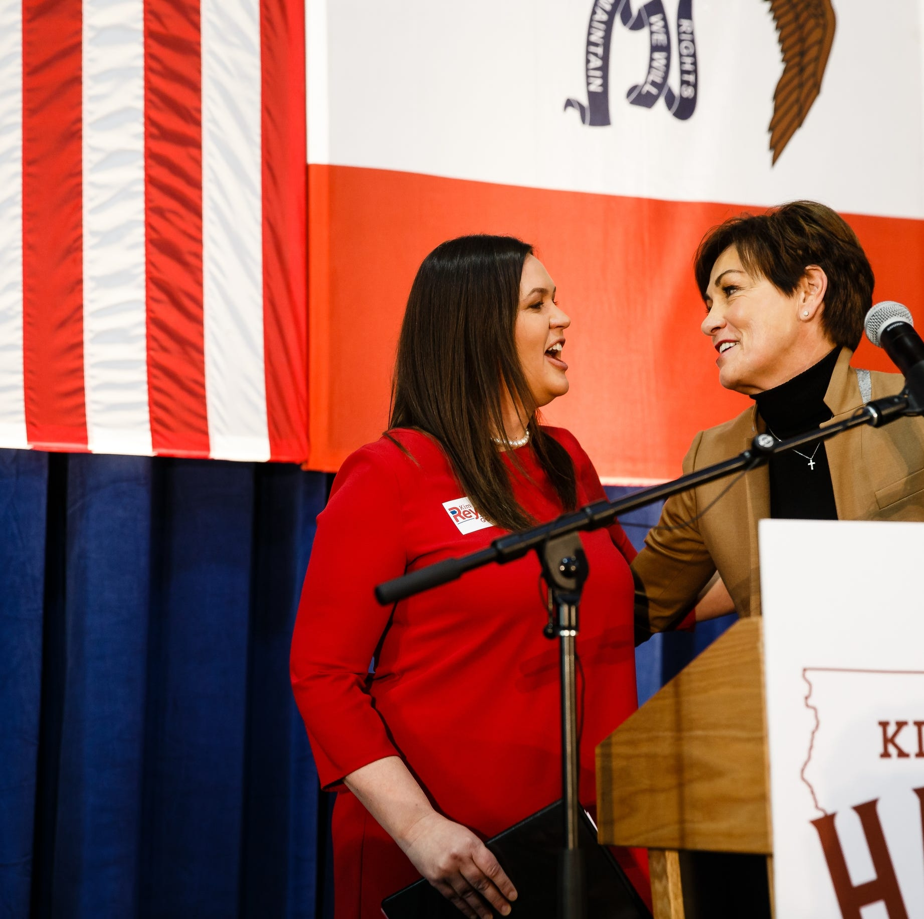 Sarah Huckabee Sanders in Iowa: Elections have consequences — just look at the Supreme Court