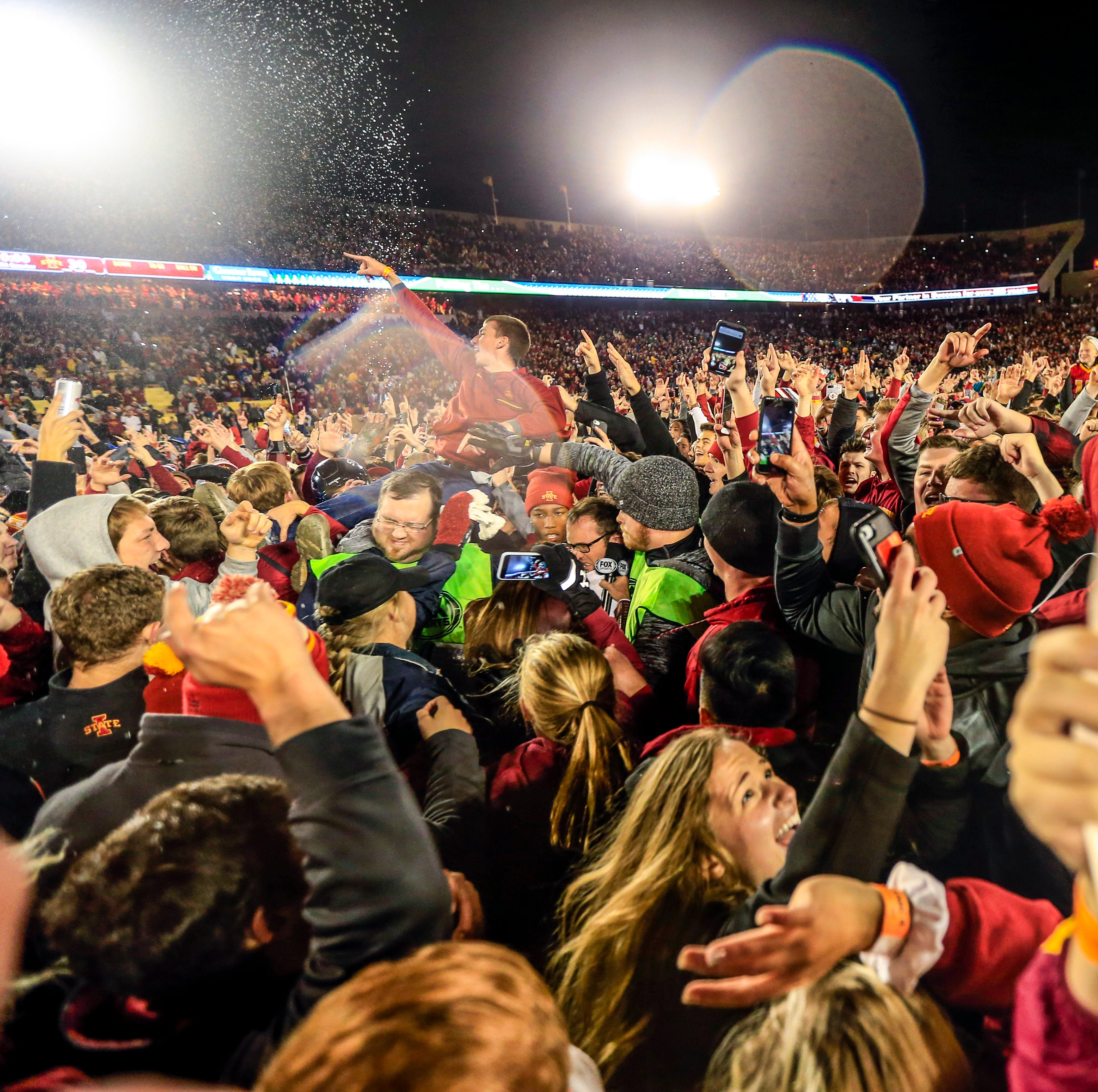 Iowa State loses appeal for field storming; $25,000 fine upheld by the Big 12