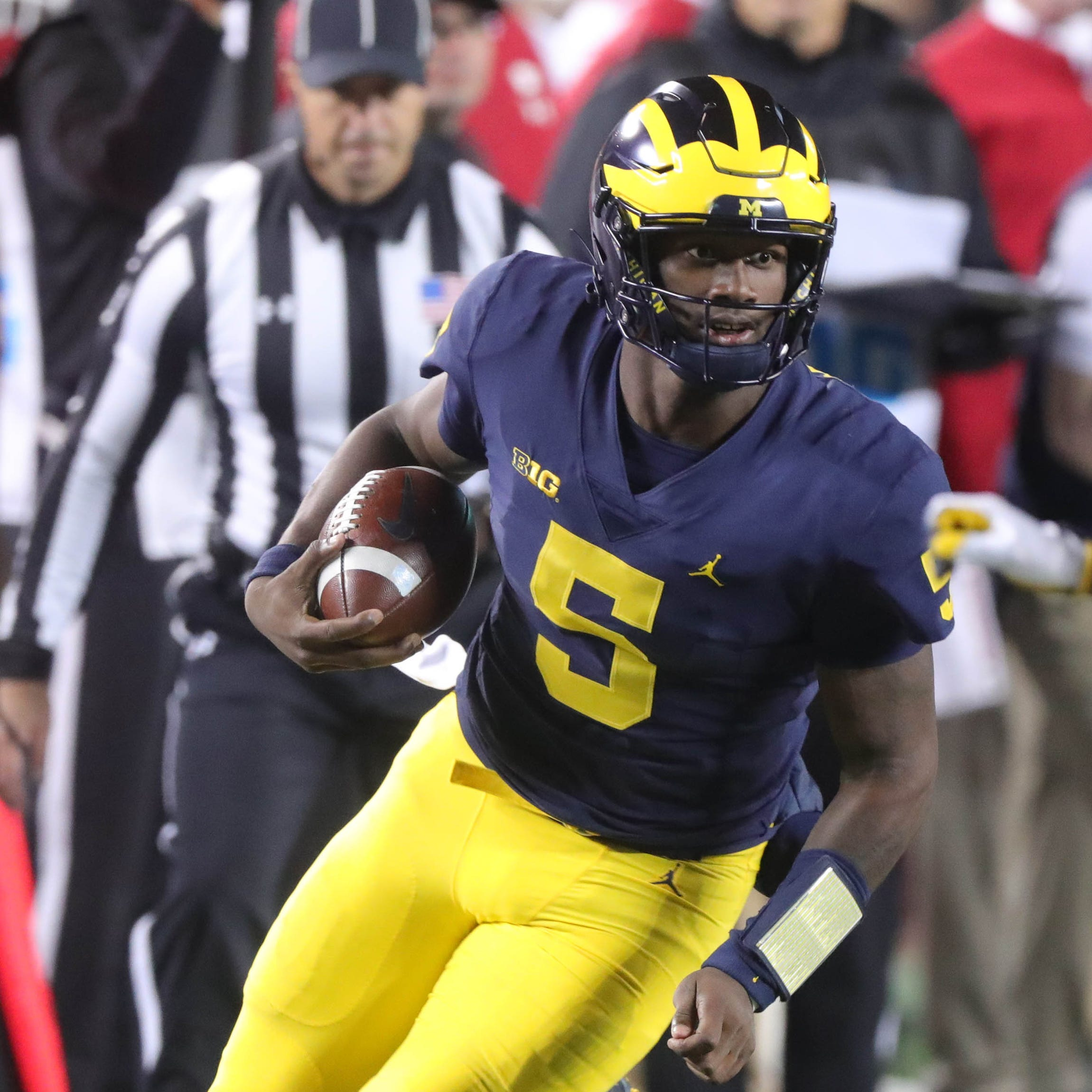 Michigan's Jim Harbaugh: Joe Milton playing may not change depth chart