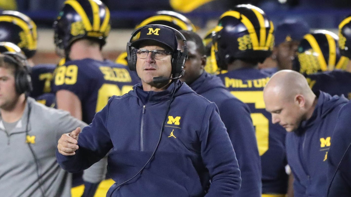 Michigan football's Jim Harbaugh explains lack of contract extension. Here's what it is - Detroit Free Press