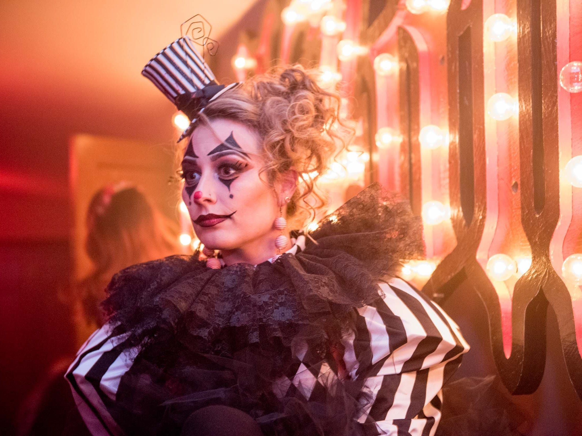 Nicole Mallory, of Fraser, during Theatre Bizarre at Masonic Temple on October 13, 2018.