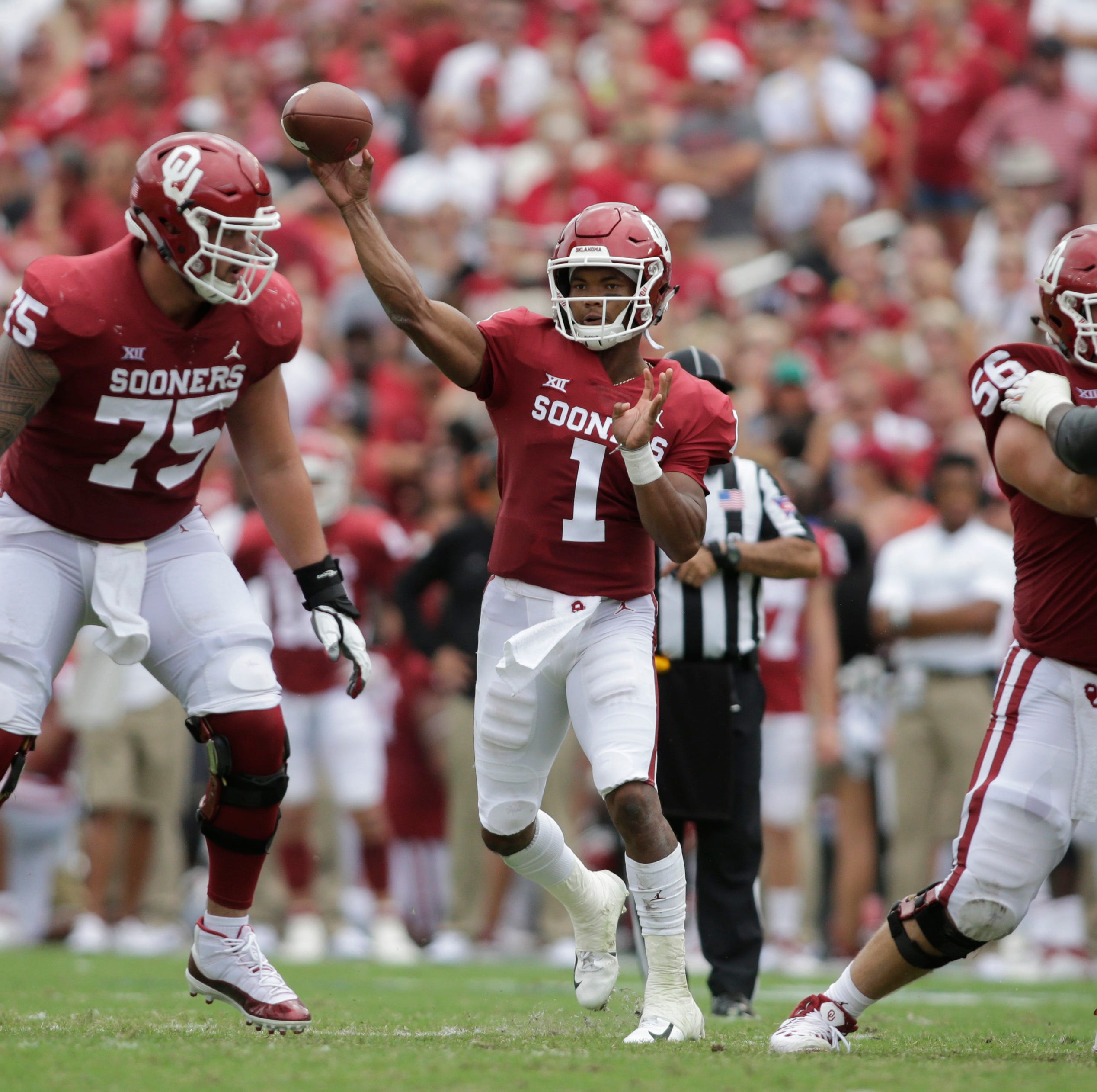 10. Oklahoma (5-1) | Last game: Open week | Previous ranking: 11