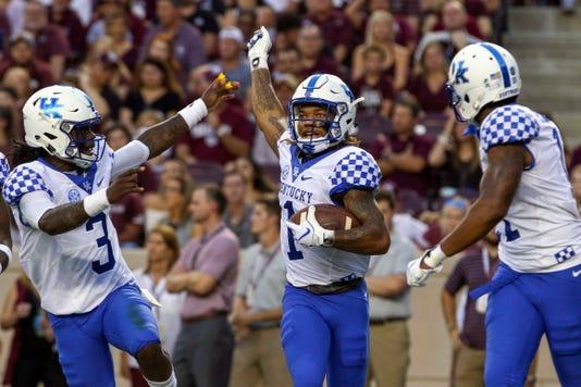 Ncaa Football Kentucky At Texas A M