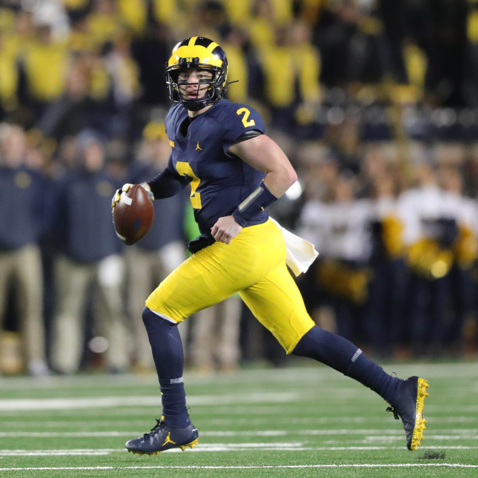 Shea Patterson's Michigan journey hits crucial juncture: Michigan State
