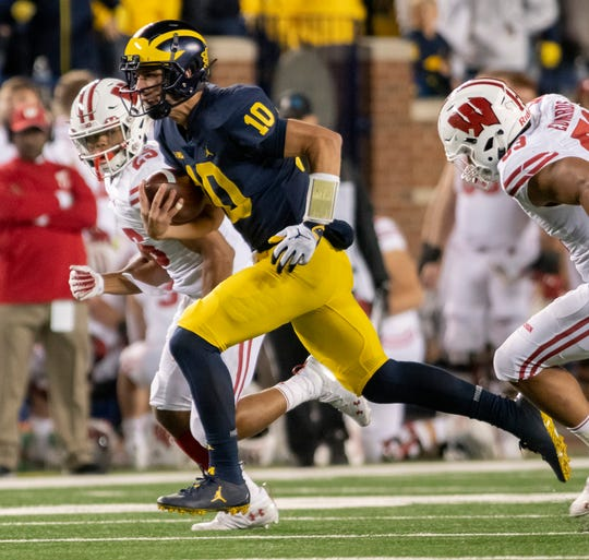 Michigan quarterback Dylan McCaffrey is expected to be ready for spring practice.